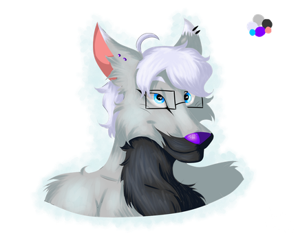 Fursona Redesign by crescent-moon123