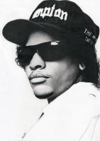 Eazy-E by Bajan-Art