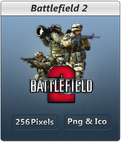Battlefield 2 - Icon by Crussong