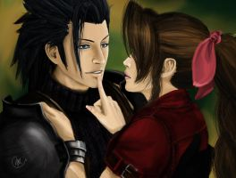 FFVII -in love- by Nia90