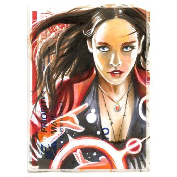 Copic Scarlet Witch on a 228 by danomano65