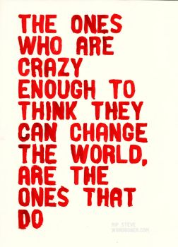 The Crazy Ones by WRDBNR