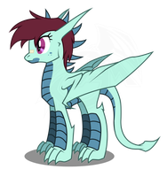 My OC Dragon by aloid19
