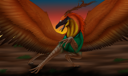 Quetzalcoatl by wolfhound56200