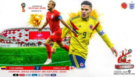 COLOMBIA - ENGLAND WORLD CUP 2018 by jafarjeef