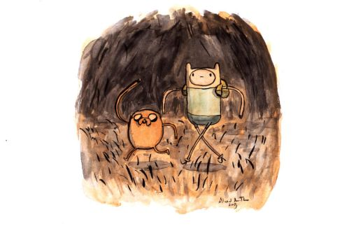 Adventure time by Iceland-Ink