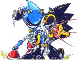 metal sonic vs shard CL by trunks24