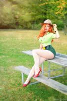 Jessica Rabbit: Pin-Up Park Ranger by MomoKurumi