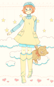 Teddy Bear Princess by Cioccolatodorima