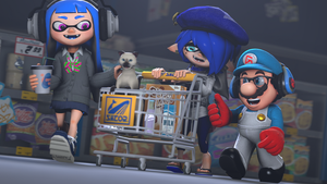 [Splatoon SFM] Going Shopping in Mako Mart by Geoffman275