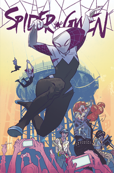 SPIDER-GWEN #1 by JasonLatour