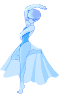 Blue Pearl by CloudyQuartz