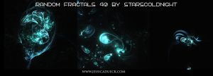 Random Fractals 40 By Starscoldnight by StarsColdNight