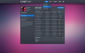 Clan Comet CMS Backend by eggzy