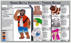 Bear Trainer Mike is BACK! BFOI Y3 APP by mudkip03345