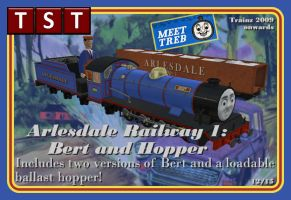 Arlesdale Bert and Ballast Hopper RELEASED SORT OF by thejonateers