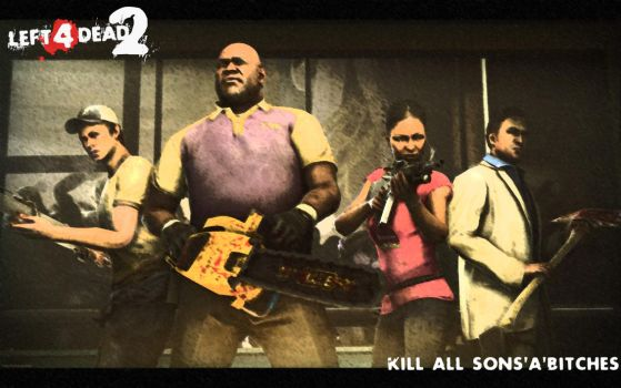 Kill all sons'a'bitches by Black-Pixel