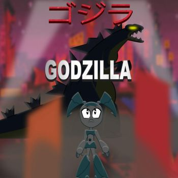 jenny and godzilla by mayozilla