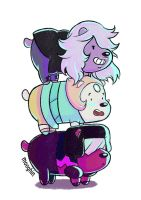 We Crystal Gems by Mooghin