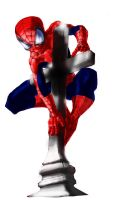 Spidey on cross 2nd try by mmxT