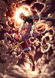 LUFFY GEAR 4 SNAKEMAN from One Piece by marvelmania