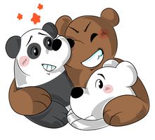 We Bare Bears! by Monodes