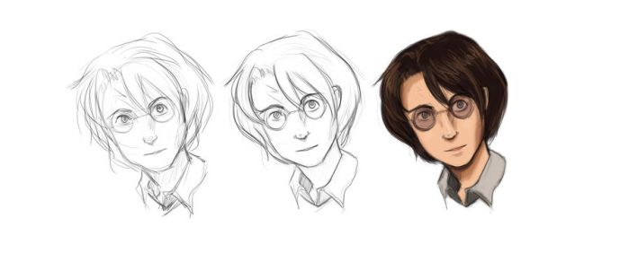 Harry Potter 1 by bishihuntress