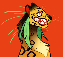 Toothy Jaguar Squad by GoneViral