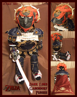 Dark Lord Ganondorf Plushie by tavington