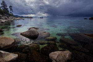 Grey Tahoe Skies by sellsworth