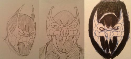 Darkness Batman Amalgam Concept by duckness