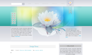 WP Theme - Lotus by So-ghislaine