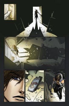 colored page 4 of paladin, Asura's comic project by MWEntIndustries
