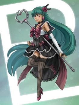 Burlesque Sailor Pluto by Sessie