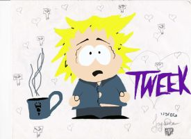 Tweek by invaderchick