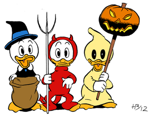 Trick Or Treat! by Hidde99