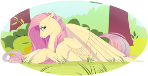 Fluttershy by GLaSTALINKA