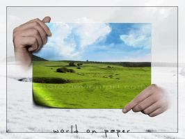 world on paper by st3to