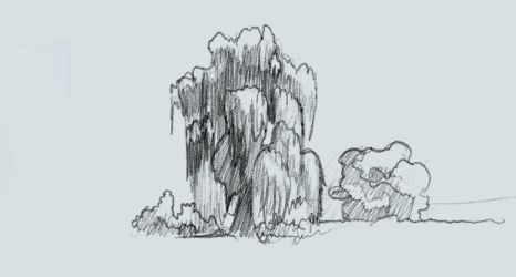 free how to draw willow trees for comics by discipleneil777