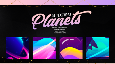 PLANETS   TEXTURES #01 by Mondai-Girl