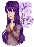 [DDLC] - care to read? by benadrylz