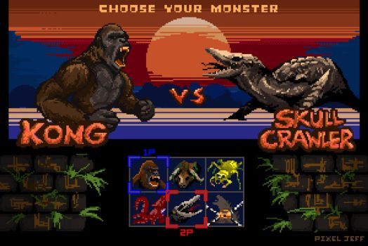 Kong: Skull Island - The Arcade / 2017 by pixeljeff1995