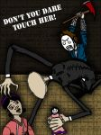 Don't You Touch Her SLENDER :Cry: by InvisibleCorpseGirl
