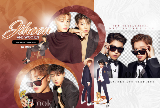 Jihoon and Woojin PNG PACK#/Wanna One by Upwishcolorssx