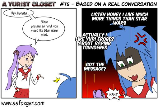AYC #75 - Based on a real conversation-ENG by AsFoxger