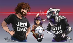 DAD WARS by Quarter-Virus