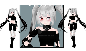 [MMD|NEW MODEL] Esper Miku by o0Glub0o