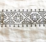 Blackwork WIP by VickitoriaEmbroidery