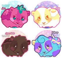 Magical Guinea Pigs by Miss-Glitter