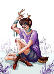 The pubertal period of Bambi by Io-Zoi